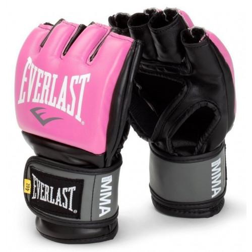 Перчатки для ММА Everlast Pro Style Grappling Gloves Pink р. S/M